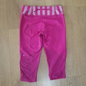 Lululemon Run For Your Life Crops Size 8